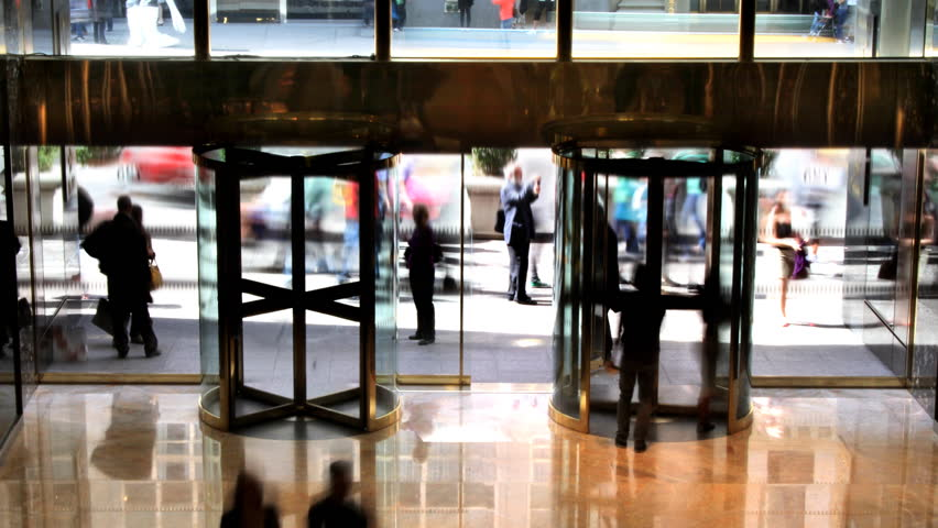 Revolving Doors Time Lapse   Shutterstock HD Video #727915