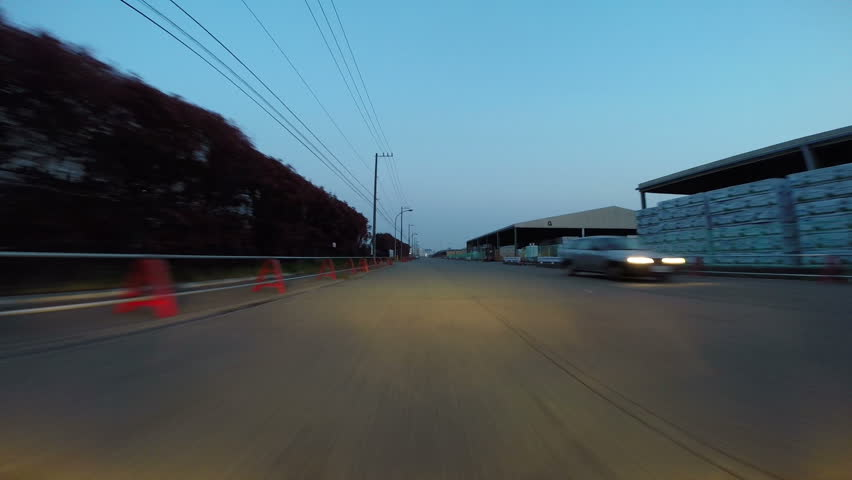 Rapid hyper lapse of Tokyo's picturesque twilight hour transition. | Shutterstock HD Video #7314220