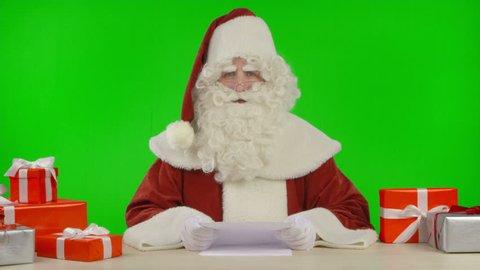 Santa Claus the Newsreader
