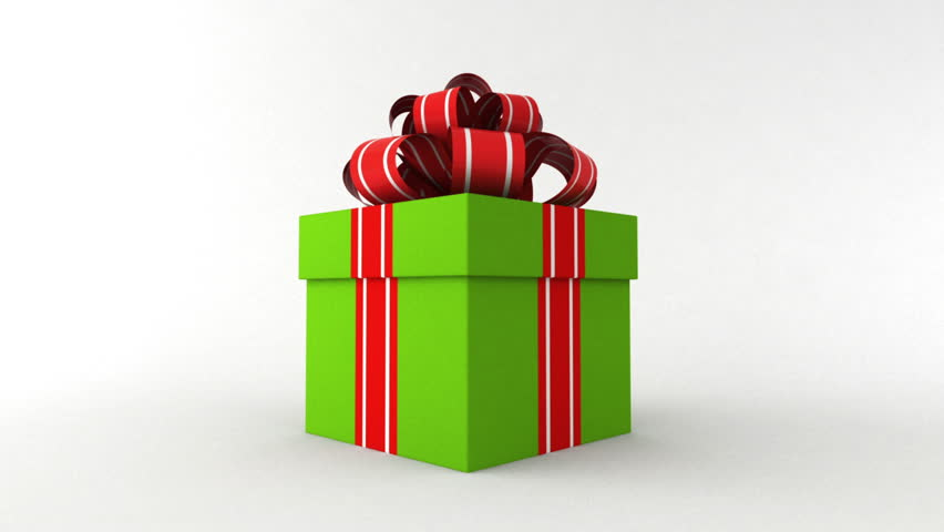 Green gift box stock footage video 7361500 shutterstock negle Images