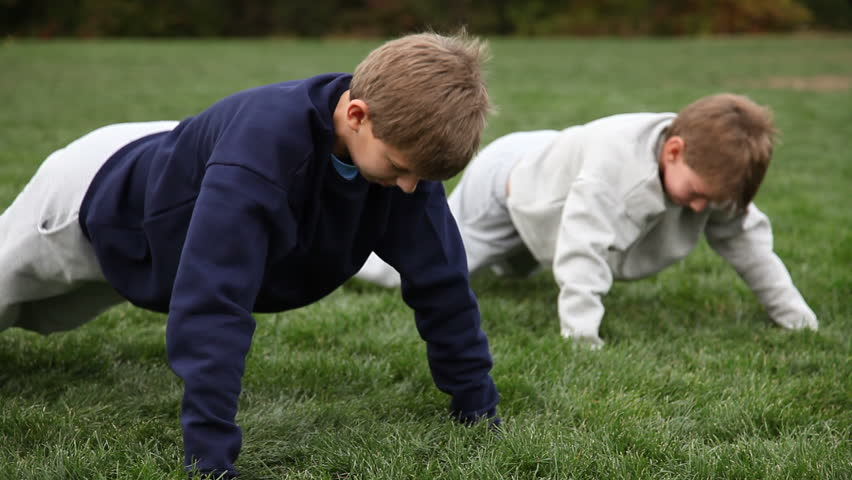 Kids Doing Pushups - Ronald Fowlkes Describes the Benefits of Mentoring