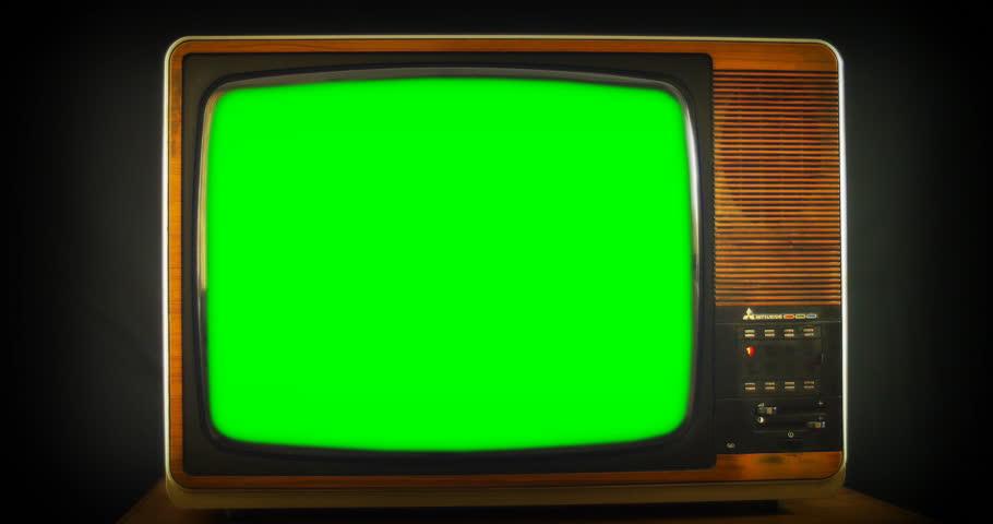 Vintage Tv Screen