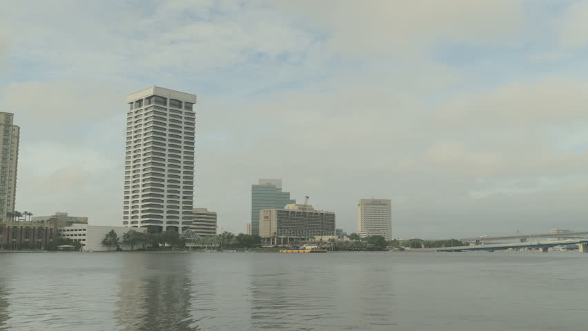 JACKSONVILLE FLORIDA September South Bank In Downtown - Longest river in the us