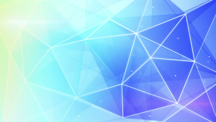 Hd Abstract Blue Background: Futuristic Light Blue Triangles Pattern. Computer