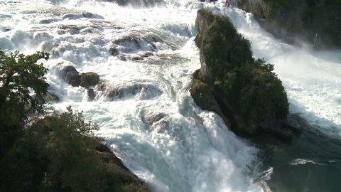 Swiss Waterfall Rheinfall Part 3