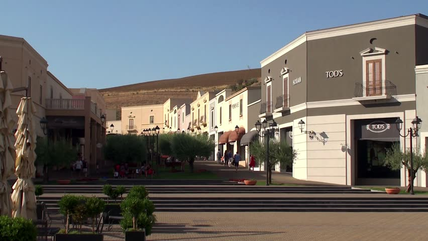 Sicilia Outlet Village - September Stock Footage Video (100% Royalty-free)  7470640 | Shutterstock