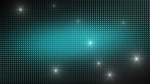 Background LED dot style.