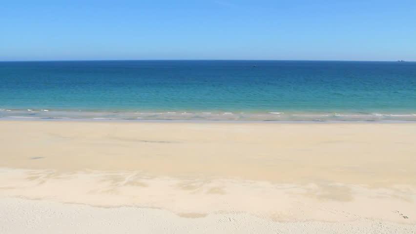 Sandy Beach Footage Stock Clips