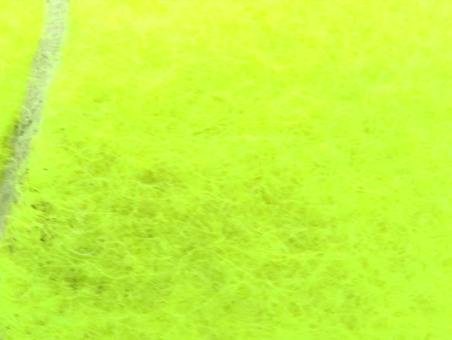 Tennis Ball Loop V1   NTSC   SD Stock Video Clip  Why Is There Fuzz On A Tennis Ball