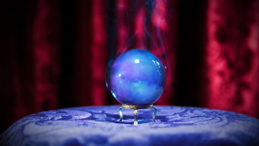 Magic Crystal Ball On a Stock Footage Video (100% Royalty-free) 7713220 |  Shutterstock
