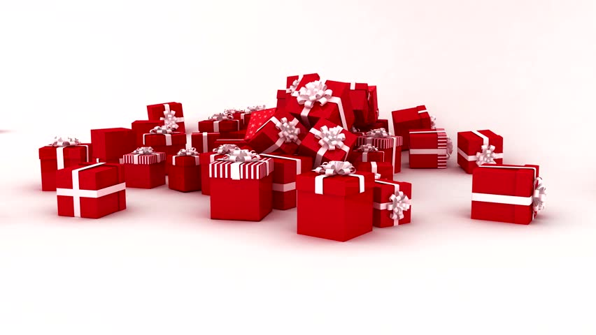 Christmas Presents.Digital Animation Of Christmas Presents Stock Footage Video 100 Royalty Free 7741420 Shutterstock