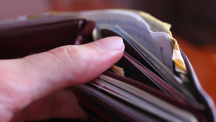 Header of wallet