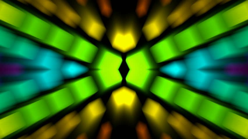 color disco neon rays light