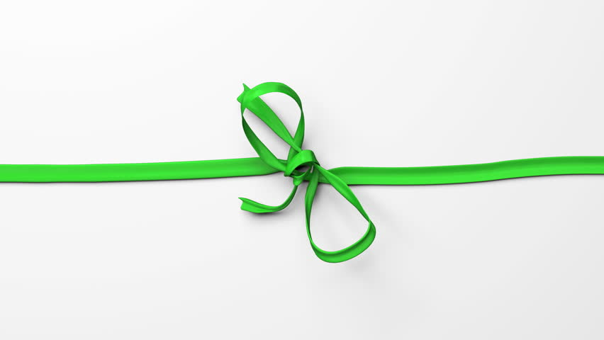 Red ribbon, tying bows. Includes alpha channel and different colors. | Shutterstock HD Video #7940593