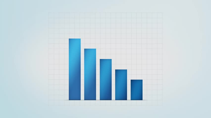 Infographic blue bar graph with different values loop stock infographic blue bar graph with different values loop stock footage video 8027500 shutterstock ccuart Images