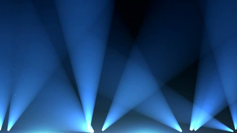 Laser stage lights and spot lights concert,blue warm heaven lights from above soft optical lens flares shiny animation art background animation,Motion graphic natural lighting lamp,Bright stage lights