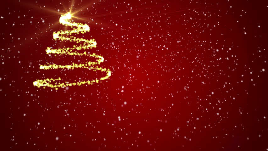 merry christmas background red backgrounds stock footage video 100 royalty free 8160070 shutterstock - Red Christmas Background