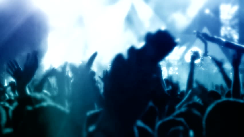 Crowd at concert  ( Series 14 + Version from 1 to 10 )  | Shutterstock HD Video #8167480