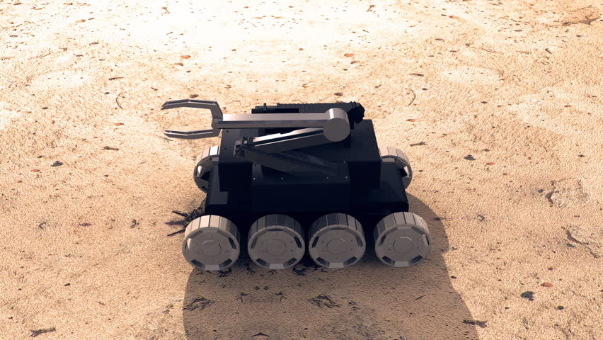 bomb disposal robot design pdf