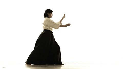 woman engaged in tai chi chuan 1