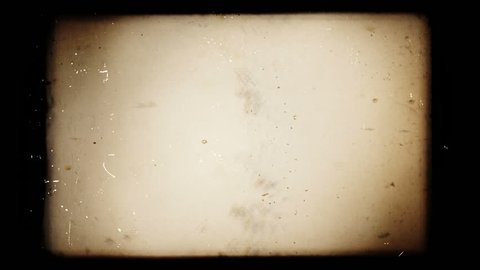Vintage 8mm film, empty leader