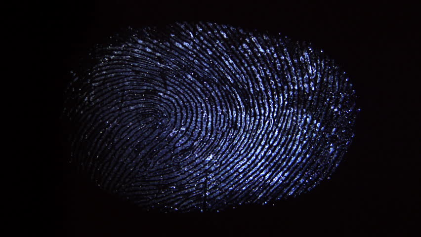 A ray of light finds fingerprints. Crime scene investigation   Shutterstock HD Video #8340355