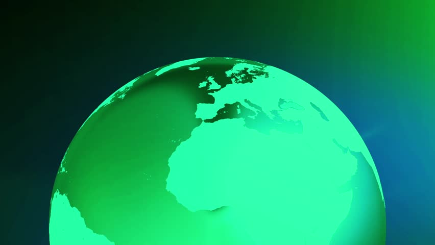 Earth art background loop simple animation of globe rotating with earth art background loop simple animation of globe rotating with line art world map in a simple color background earth bottom gumiabroncs Images