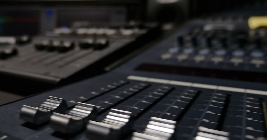 4K footage of a recording studio´s octopus device/The studio | Shutterstock HD Video #8375920