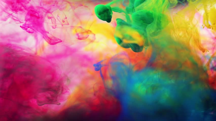 Inks in water | Shutterstock HD Video #8398420