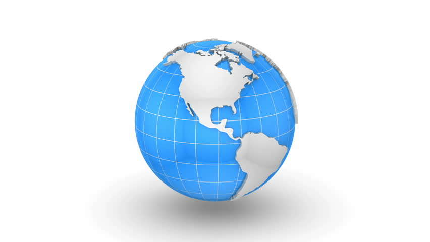 Stock video of world map turns into a globe 22185841 shutterstock gumiabroncs Gallery