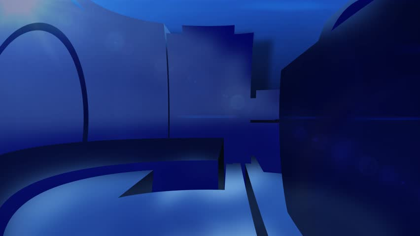 News style virtual studio abstract motion  blue background | Shutterstock HD Video #8586760