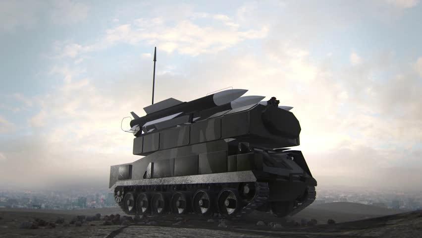 BUK-M2 Missile Launch  | Shutterstock HD Video #8620480
