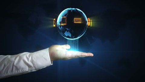 The Digital World in your hand - networking at your fingertips