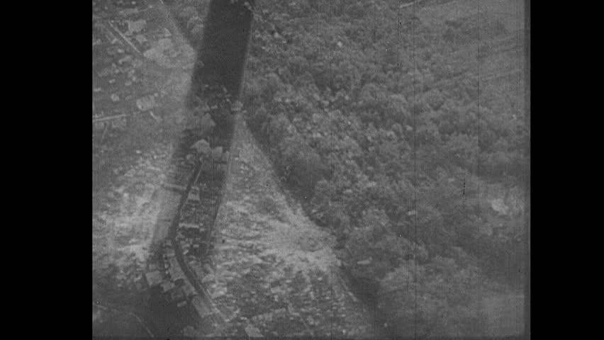 EUROPE - CIRCA 1942-1944: World War II, German Planes Drop Bombs