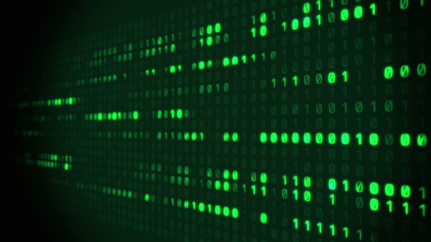 Binary Matrix Scrolling | Shutterstock HD Video #8693050