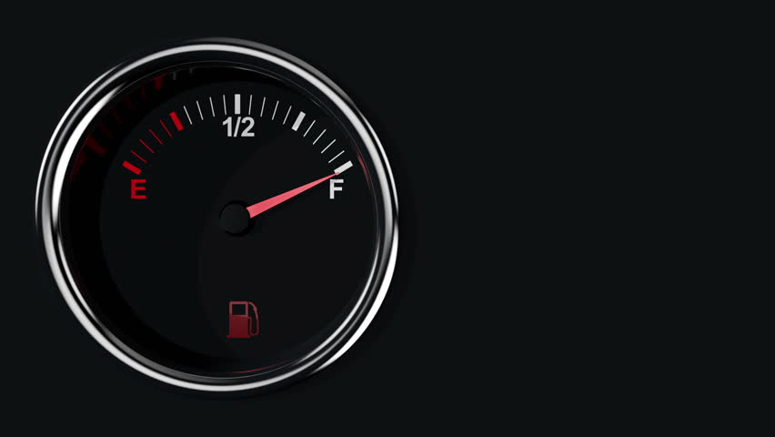 Stock video of fuel gauge and pointer moving on 8866660 shutterstock altavistaventures Choice Image