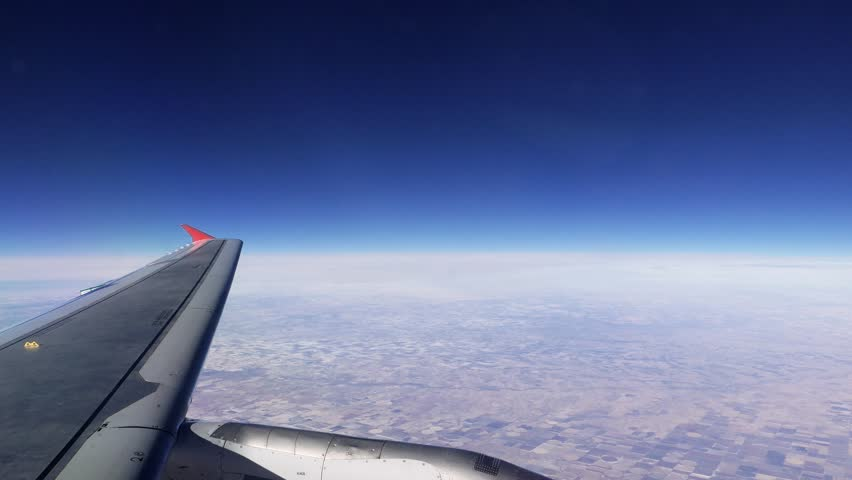 Airliner Jet Plane Flying Above Stock Footage Video (100% Royalty-free)  8912380 | Shutterstock