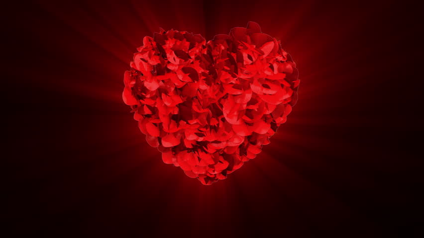 Animated Of Red Heart ...