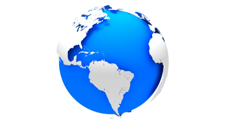 3d global world map created using maya and digital fusion royalty 3d blue earth hd stock video clip gumiabroncs Choice Image