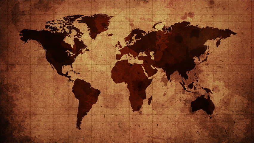 Stock video of vintage map of the world old 8950558 shutterstock visually similar footage gumiabroncs Gallery
