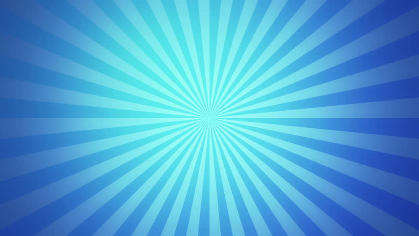 Retro Radial Background, Blue Tint. Seamless Loop. More Color ...