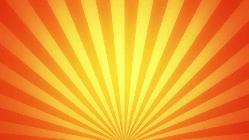 Retro Radial Background, Gold Tint. Seamless Loop. More Color ...