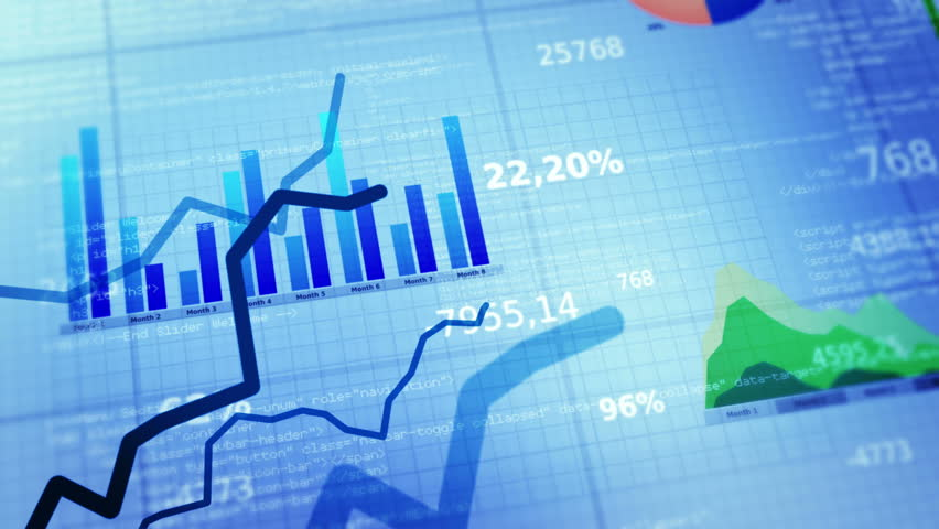Financial figures and diagrams showing increasing profits and losses. 2 in 1.  White. EACH SHOT IS LOOPABLE. More financial videos in my portfolio.  | Shutterstock HD Video #9073430