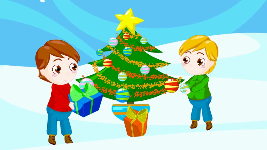 Friends At Christmas Scene Stock Footage Video 896749 | Shutterstock