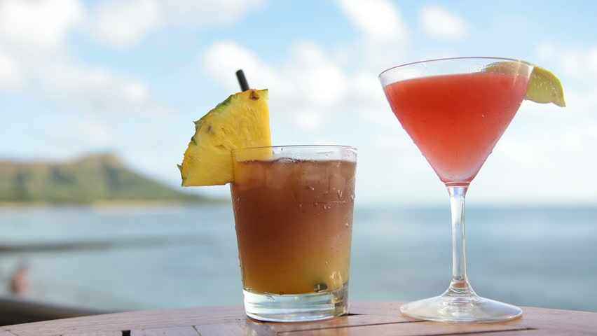 Mai Tai Tail Stock Video Footage 4k And Hd Clips Shutterstock