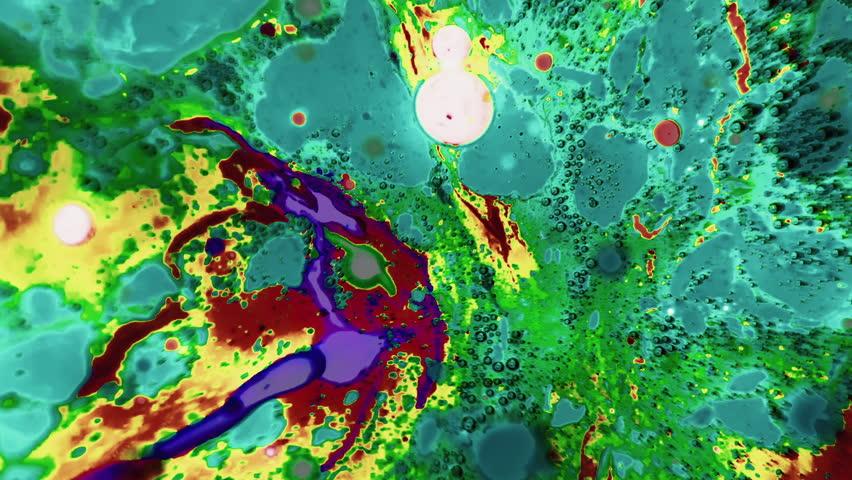 Ink Bubbles In Water | Shutterstock HD Video #9323840