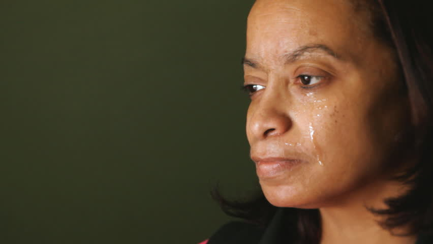 Image result for A Black Woman Crying