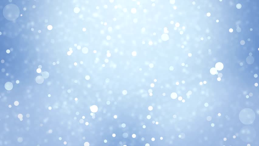Lights Blue Bokeh Background High Definition Abstract