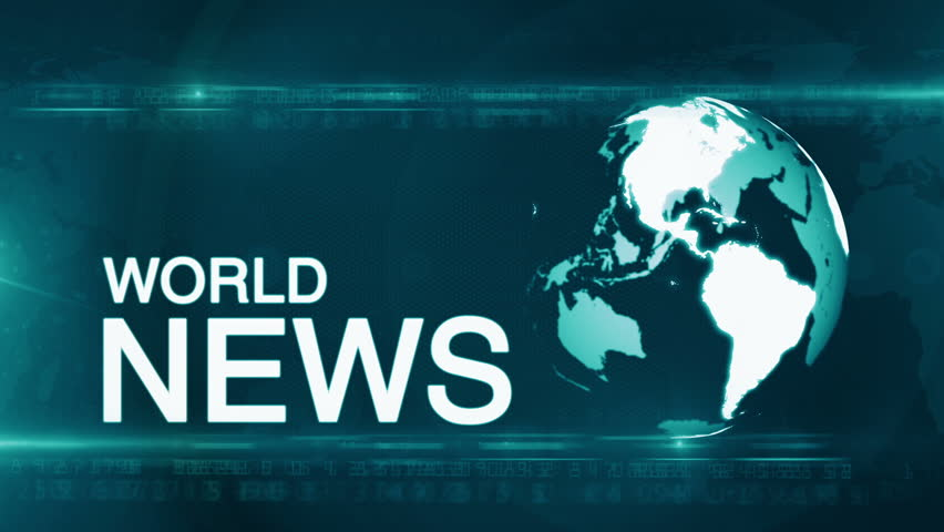 World News Background Stock Footage Video (100% Royalty ...