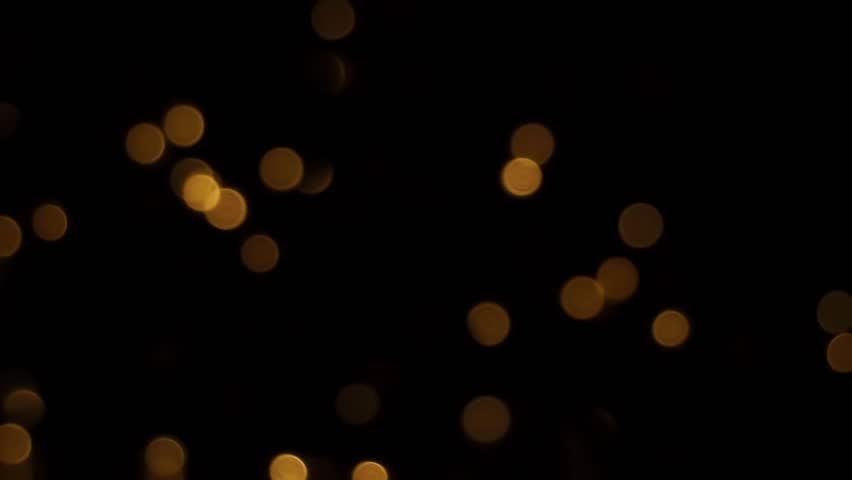 orange light particles blinking and turning on and off sequence of three different types of - Different Types Of Christmas Lights
